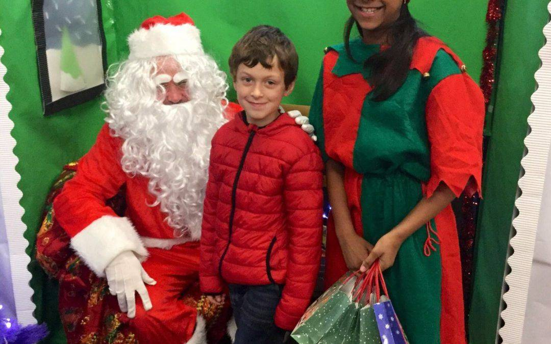 Pupils spread seasonal cheer with festive fundraising