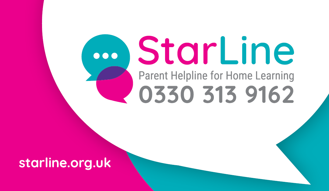 National helpline to support parents with home learning