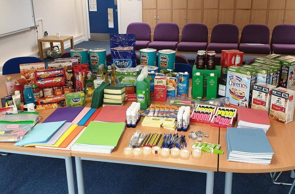 Foodbank opens to support the vulnerable